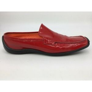 Women's Kenneth Cole Red Patent Driving Loafers